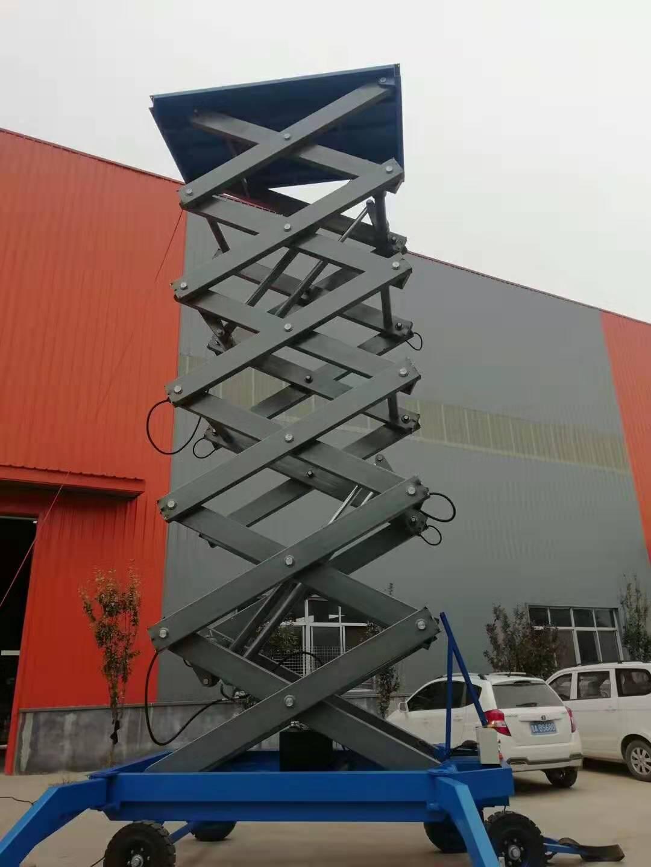 14米2吨升降机升高图